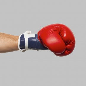 Boxing Gloves - Boxing Glove Animation Humour PNG