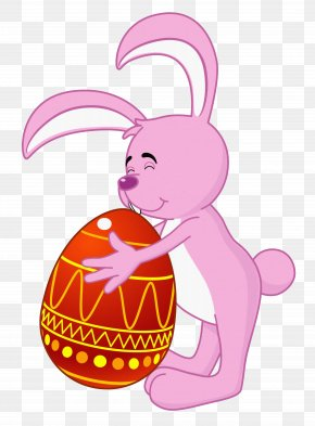 Easter Bunny Transparent Clipart - Easter Bunny Clip Art PNG