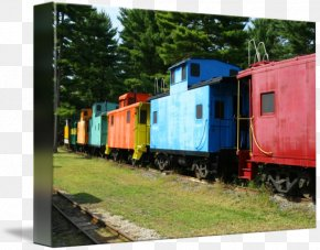 Train - Rail Transport Railroad Car Train Passenger Car Track PNG