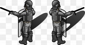 Riot Police - Baton Police Officer PNG