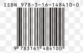 Barcode - Paperback How To Publish Your PhD International Standard Book Number Publishing PNG