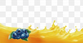 Blueberry - Petal Blueberry Wallpaper PNG