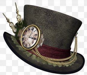 Steampunk Hat Clipart Picture - Steampunk Top Hat Clip Art PNG