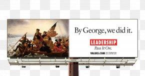 Billboard - Billboard George Washington's Crossing Of The Delaware River United States Washington Crossing The Delaware Advertising PNG