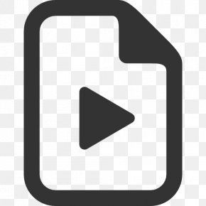 Video Icon Transparent Image - Portable Document Format Icon PNG