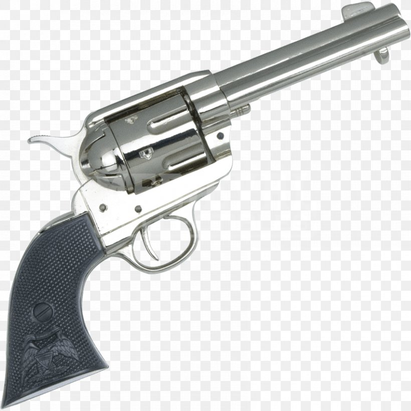 Revolver Trigger Firearm Colt Single Action Army Colt's Manufacturing Company, PNG, 850x850px, 45 Colt, Revolver, Action, Air Gun, Colt Single Action Army Download Free