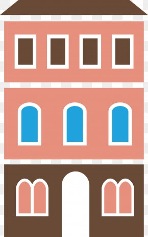 Apartment Building Vector - Apartment Cartoon Gratis PNG