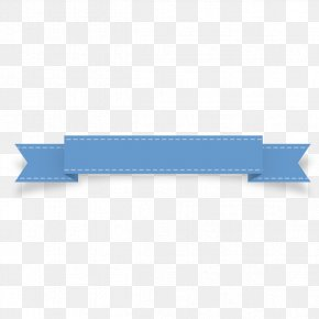 Blue Ribbon Upgrade Label - Blue Ribbon Blue Ribbon Colour Banding PNG