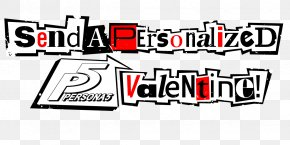 Valentine - Persona 5 PlayStation 3 PlayStation 4 Valentine's Day Font PNG