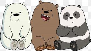 Bear - Polar Bear Giant Panda The Baby Bears T-shirt PNG