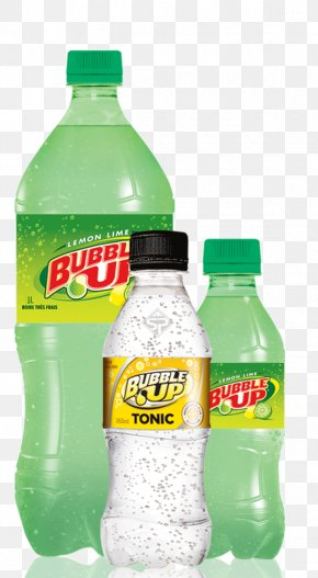 Drink - Fizzy Drinks Carbonated Water Bubble Up Tonic Water Lime Cordial PNG