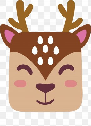 Cute Reindeer Avatar - Reindeer Download PNG
