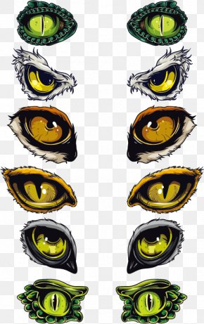 Animal Eyes Vector Material - Euclidean Vector Eye Symbol PNG