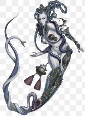 The Goddess Patching The Sky - U641cu795eu8a18u5168u8b6f Monster Tattoo Illustration PNG