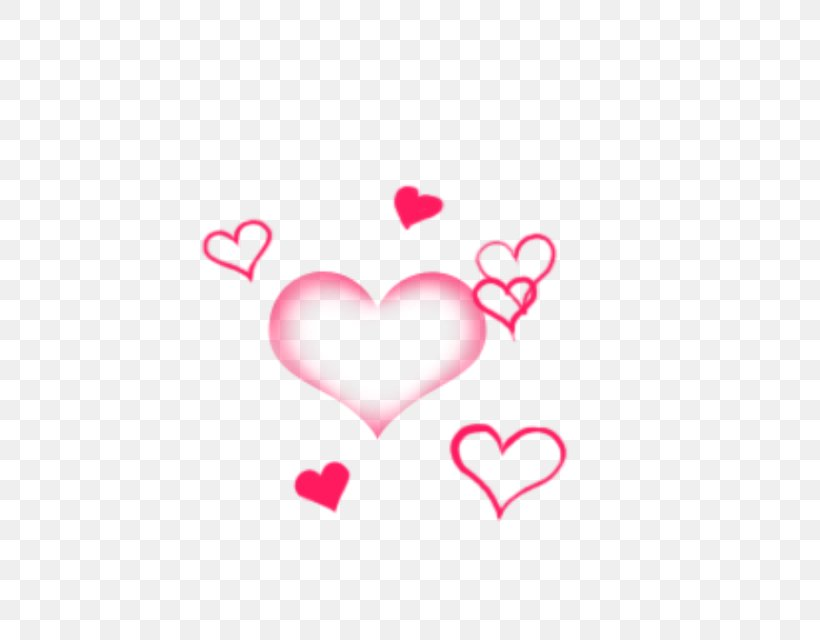 Pink M Valentine's Day Line Heart Clip Art, PNG, 640x640px, Watercolor, Cartoon, Flower, Frame, Heart Download Free