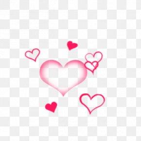 Valentine's Day - Pink M Valentine's Day Line Heart Clip Art PNG
