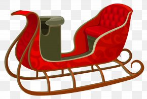 Christmas Red Sled Picture - Sled Icon Flexible Flyer NOP Slide PNG