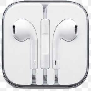 Microphone - IPhone 5 Apple Earbuds Microphone Headphones IPod PNG