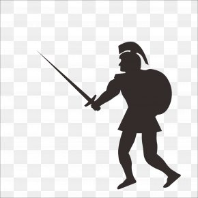 Soldiers - Soldier Gladius Sword Roman Army Clip Art PNG