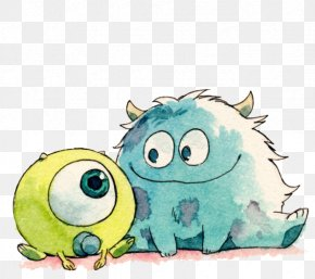 Q Version Of The Small Monster - Friendship Quotation Best Friends Forever Love PNG