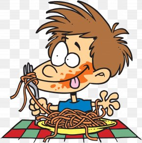 Eating Pizza Cliparts - Pasta Spaghetti With Meatballs Italian Cuisine Eating PNG