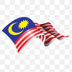 Flag Of Malaysia - Flag Of Malaysia Straits Settlements Clip Art PNG