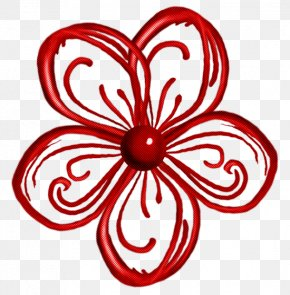 Plant Petal - Red Ornament Petal Plant PNG