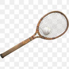Ball Game Rackets - Badminton Cartoon PNG