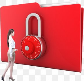 Professional Women And The Encrypted Folder - Encryption Directory Computer File PNG