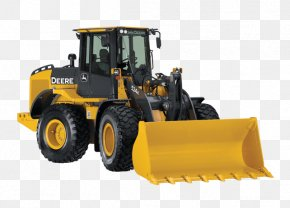 Wheel Loader - John Deere Caterpillar Inc. Loader Heavy Machinery Architectural Engineering PNG