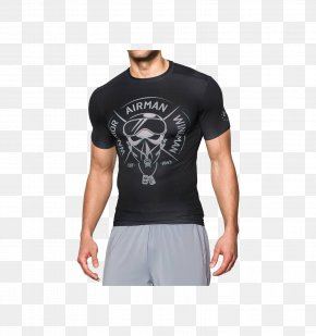 T-shirt - T-shirt Sleeve Clothing Top Under Armour PNG