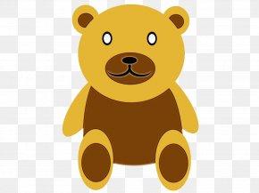Animation Animal Figure - Teddy Bear PNG