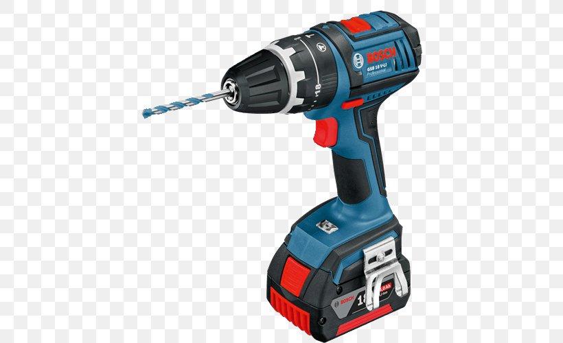 Bosch GSB 18 V-LI Professional, PNG, 500x500px, Augers, Bosch, Bosch Cordless, Bosch Power Tools, Cordless Download Free