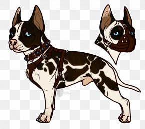 Cute Bulldog - Boston Terrier Whiskers Dog Breed Cat Non-sporting Group PNG