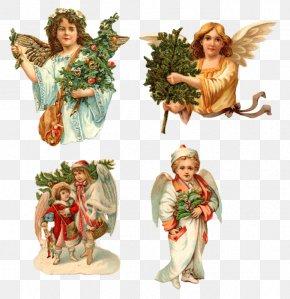Angel - Cherub Angel Christmas Easter Bunny Clip Art PNG