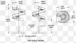 Angle - Spiral Angle Conveyor System Plastic PNG
