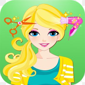 Android - Emma's Hair Salon Kids Games Hair Style Challenge Cosmetologist Beauty Parlour Super Hairdresser Challenge PNG