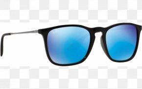 Sunglasses - Goggles Sunglasses Blue Ray-Ban Chris PNG