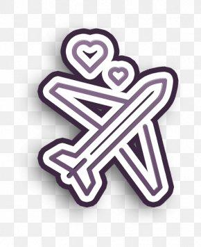 Symbol Logo - Honeymoon Icon Travel Icon Wedding Icon PNG