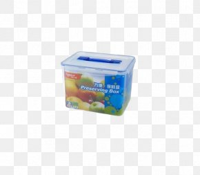 Portable Plastic Food Container - Plastic Wrap Tmall Box PNG