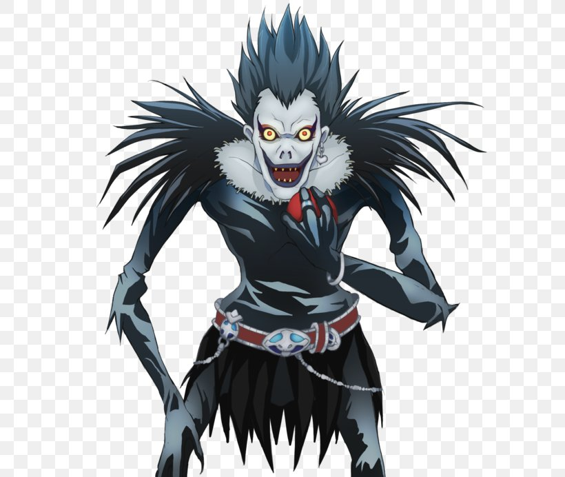 Ryuk Light Yagami Death Note Drawing Png 600x692px