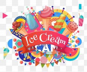 Summer Ice Cream - Ice Cream Blue Java Banana Poster Ice Pop PNG