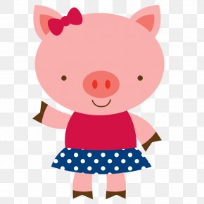 Pig - Little Red Riding Hood The Three Little Pigs Clip Art Image PNG