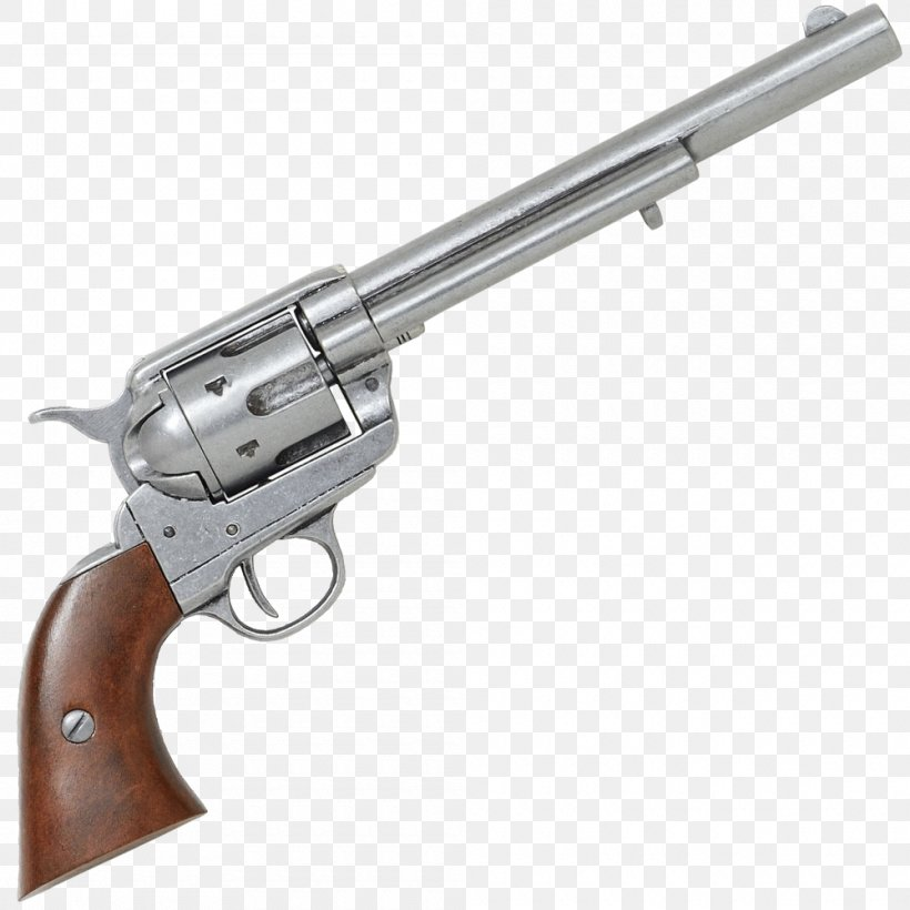 Revolver Firearm Colt Single Action Army .45 Colt Colt's Manufacturing Company, PNG, 1000x1000px, 44 Magnum, 45 Acp, 45 Colt, Revolver, Air Gun Download Free