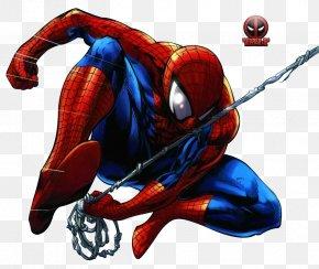 Spiderman - Spider-Man Venom Deadpool Comic Book Marvel Comics PNG