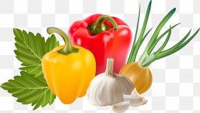 Vegetable - Vegetable Garlic Capsicum Annuum PNG