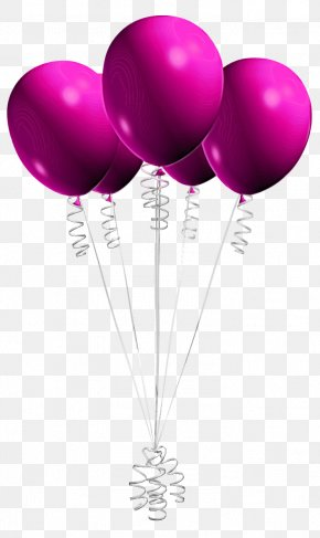 Toy Magenta - Balloon Purple Violet Party Supply Pink PNG