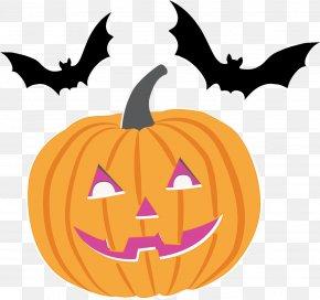 Halloween Clip Art O Lantern - Bat Stencil Drawing Halloween Silhouette PNG