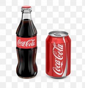 Coca-Cola Packaging - Coca-Cola Soft Drink Diet Coke Bottle PNG