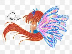 Fairy - Bloom Musa Sirenix Tecna Drawing PNG